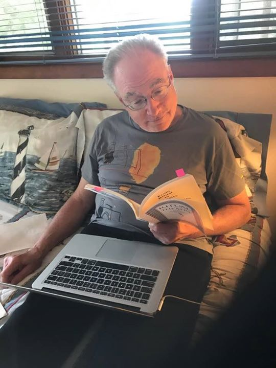 "That's @DanFriedman hard at work in preparation for his upcoming 4-week, online revolutionary conversation: ""What's Possible?"" -- maybe THE question for imagineers and performers of new worlds.  Sound intriguing?"