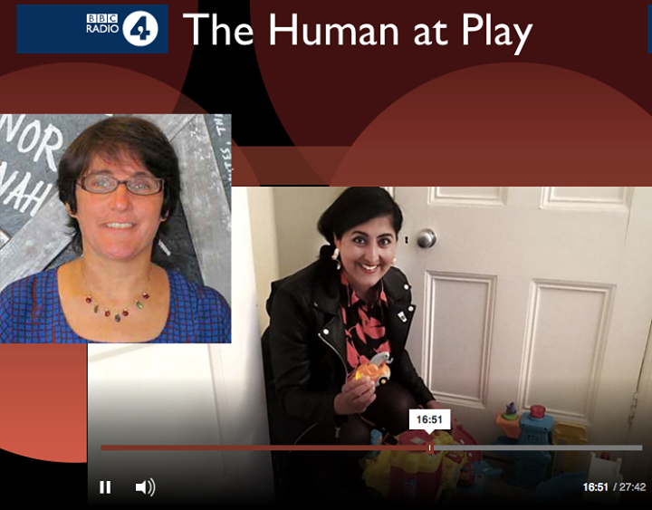"GSE Professor Carrie Lobman recently appeared on BBC Radio on ""The Human at Play"" advocating for play throughout a lifetime of development.   http://bit.ly/Lobman_Play"