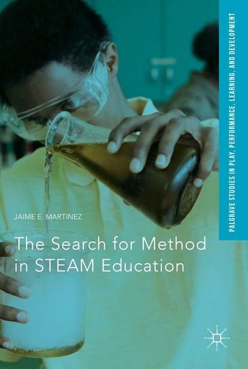 "Go #Vygotskian Jim Martinez! Congratulations on your new book! ""The Search for Method in STEAM Education"""