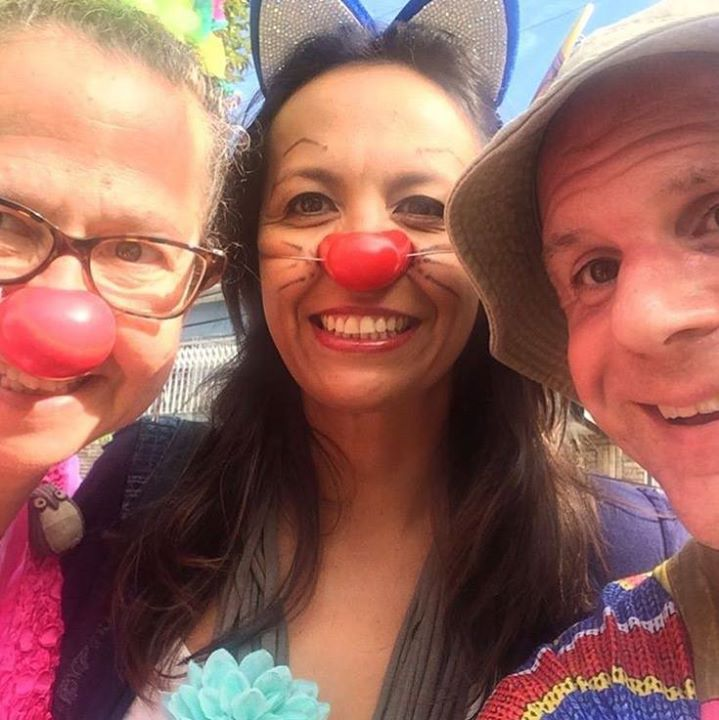 'Love Revolutionaries' Marian Rich and Tony Perone discuss their recent humanitarian clowning mission to Costa Rica led by Patch Adams at the invitation of fellow clown activist Mariamalia Cob. Read the interview here: http://eastsideinstitutecommunitynews.org/love-revolutionaries-tony-perone-marian-rich-do-therapeutic-clowning-in-costa-rica/