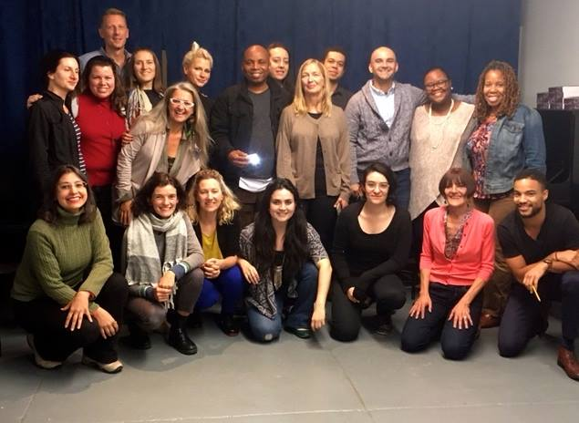 FIRST LOOK @ THE FUTURE OF PERFORMANCE ACTIVISM -- and it looks good!  Take a look at this formidable ensemble of change-makers, developmentalists, Vygotskians, activist scholars, practitioners -- members of the 2017-18 International Class and the 2017 Fulani Fellows with Lois Holzman